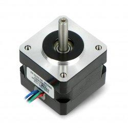 Krokový motor SY35ST28-0504A 200 kroků / ot. 10V / 0,5A / 0,1Nm
