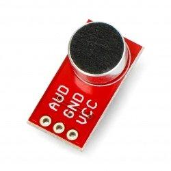 Modul s elektretovým mikrofonem a zesilovačem OPA344 - SparkFun