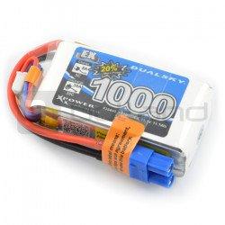 LiPol Dualsky 1000mAh 35C 3S 11,1V balení