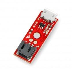 Jednočlánková Li-Pol nabíječka 1S 3,7 V microUSB - SparkFun