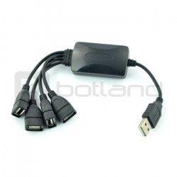 HUB USB 2.0 4 porty - 20 cm