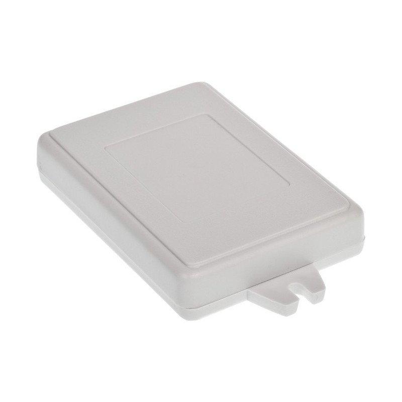 Plastové pouzdro Kradex Z23JAU - světlo 84x59x16mm s ušima