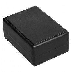 Plastové pouzdro Kradex Z23B - 84x59x38mm černé