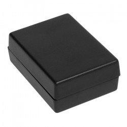 Plastové pouzdro Kradex Z24A - 66x47x24mm černé