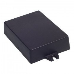 Plastové pouzdro Kradex Z53U - 90x65x22mm černé s úchyty