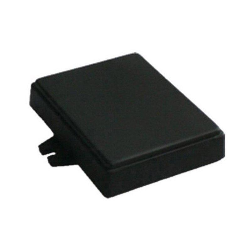 Plastové pouzdro Kradex Z71U - 76x59x18mm černé s úchyty