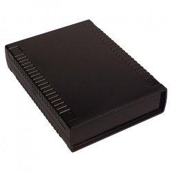 Plastové pouzdro Kradex Z112A - 186x136x40mm černé