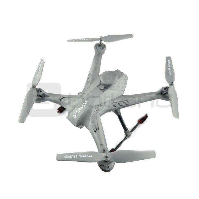 Drone quadrocopter OverMax X-Bee drone 5.2 WiFi 2.4GHz s FPV kamerou - 62cm + 2 další baterie