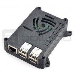 Raspberry Pi model 3/2 / B + 3D VESA pouzdro pro montáž monitoru - černé