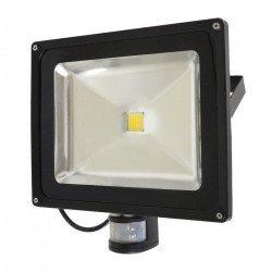 LED venkovní lampa ART EKO PIR s detektorem pohybu, 50W, 3000lm, IP65, AC80-265V, 4000K - neutrální bílá