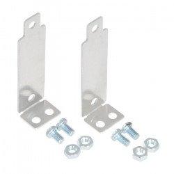 Pololu - hliníkové držáky pro senzory vzdálenosti Sharp - kolmé - 2 ks.