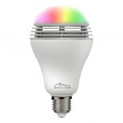 Smartlight MT3147 BT - Chytrá RGB LED žárovka s Bluetooth reproduktorem, E37, 5W, 350lm