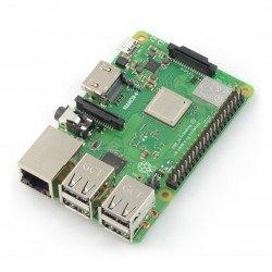 Raspberry Pi 3 model B + WiFi DualBand Bluetooth 1 GB RAM 1,4 GHz