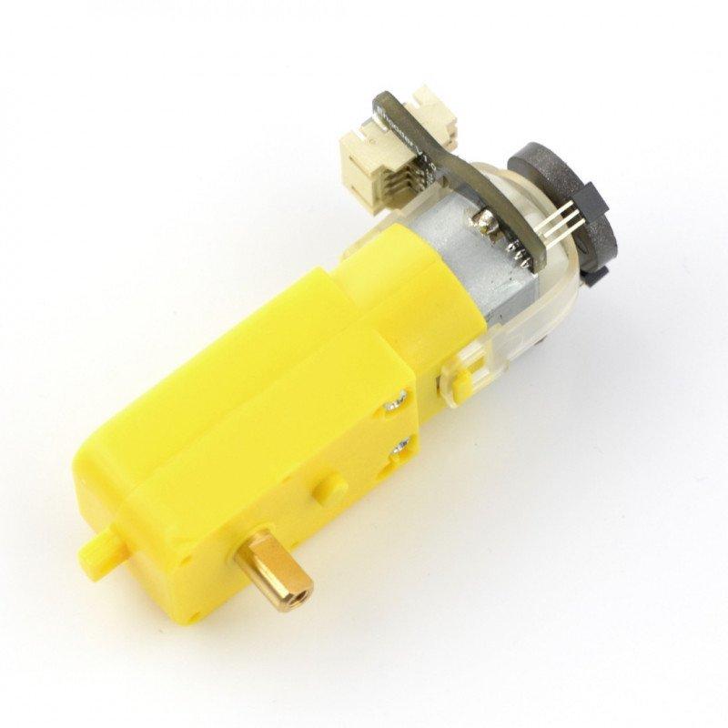 Mikro převodovka 120: 1, 6V 160RPM + kodér SJ01