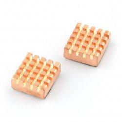 Sada chladičů pro Raspberry Pi s tepelně vodivou páskou