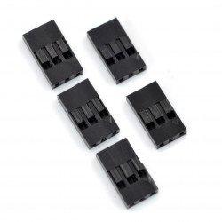 BLS konektor - zásuvka 3x1 - 5 ks