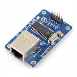 Síťový modul Ethernet ENC28J60 - 3,3 / 5V