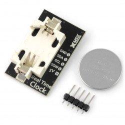 MSX RTC DS1307 I2C - hodiny reálného času + baterie