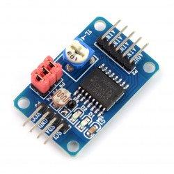 PCF8591 - A / C a D / A převodník 8bitový I2C v2
