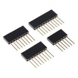 Sada samičích konektorů rozšířena pro Arduino Uno a Leonardo