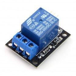 Reléový modul bez optoelektronického oddělení 5V 10A / 125VAC