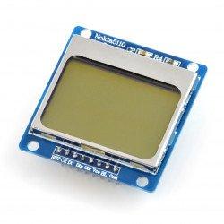 Grafický LCD displej 84x48px - Nokia 5110 - modrý