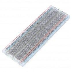 Držák, 830 otvorů, průhledný