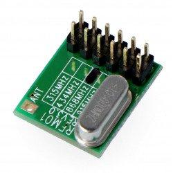 Rádiový modul - RFM01 / 868D 868MHz - přijímač THT
