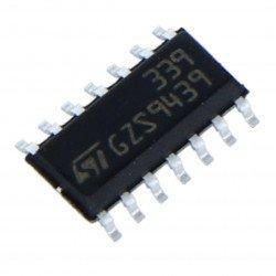 Analogový komparátor LM339 - SMD