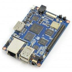 Banana Pi M64 2 GB RAM + 8 GB EMMC čtyřjádrový WiFi + BT 4.0