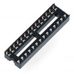 Zásuvka pro obvody DIP 28 pinů úzká - 5 ks.