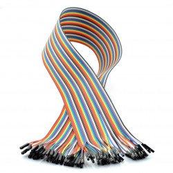 Propojovací kabely žena-žena 60 cm - 40 ks