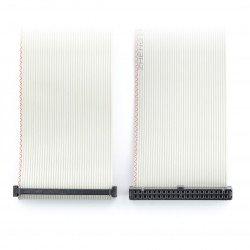 Kabel IDC 40kolíková zásuvka-zásuvka 15 cm Raspberry Pi 2 / B +