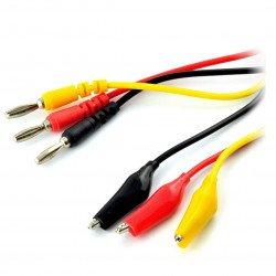 Kabely, zkušební sondy pro měřiče - 3 krokosvorky
