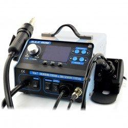 Pájecí stanice WEP 992DA + 720W hotair, koncovka, odsávač par + uložení nastavení