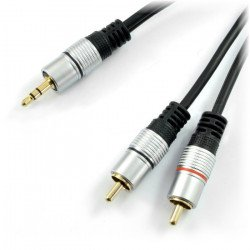 Kabel Jack 3,5 - 2 x RCA 3 m - Blow