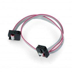 IDC 6kolíkový kabel žena-žena - 30 cm
