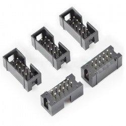 IDC zástrčka 10 pin přímá - 5 ks
