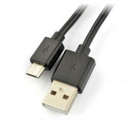MicroUSB kabel B - A - Esperanza - 0,8 m