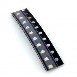 Zelená smd 0805 LED - 10 ks.