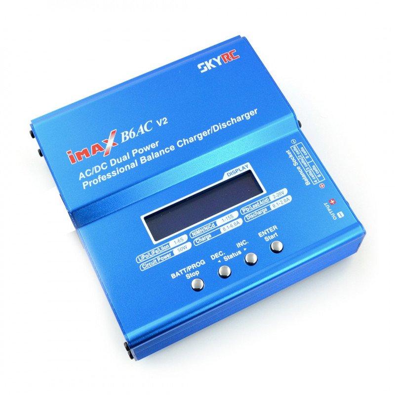 Nabíječka Li-Pol s mini balancerem SkyRC IMAX B6 v2 - USB
