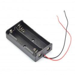 Koš na 2 18650 baterií