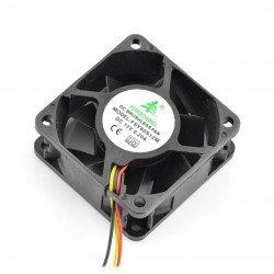 Ventilátor 12V 60x60x25, posuvný 3 vodiče
