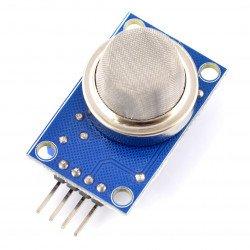 Detektor kouře a hořlavých plynů MQ-2 - modrý modul