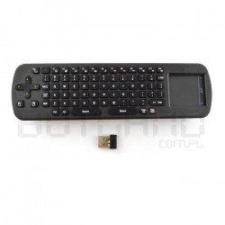 Bezdrátová klávesnice Measy RC12 + touchpad - bezdrátová 2,4 GHz