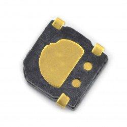 Magnetický bzučák 3V 2,1 mm SMT-0540-SR SMD