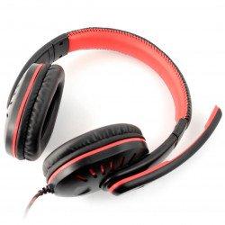 Stereo sluchátka s mikrofonem - Esperanza Crow