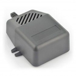 Plastové pouzdro Kradex Z92U - 85x78x32mm černé s úchyty