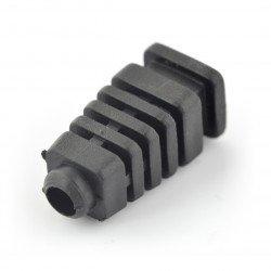 Odlehčení tahu pro černý 5mm kabel