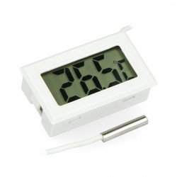 Panelový teploměr s LCD displejem od - 50 ° C do 100 ° C